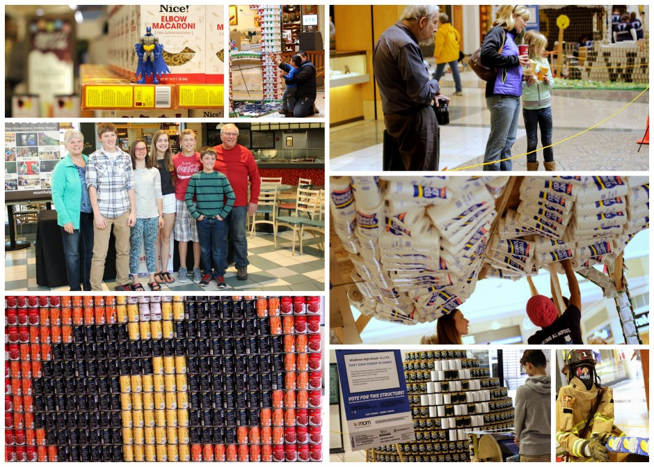 Canstruction Madison 2015 Collage